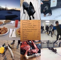 Top 9 Things About Pikangikum: 1. The sunrise 2. Rez dogs 3. THE Weiner Dog 4. Kwan's 5. Munchie runs 6. Rashkees 7. Fishing 8. Moose meat 9. Hockey
