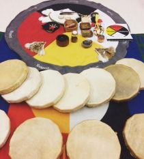 Every culture expresses itself through songs - Indigenous peoples with drums and healing songs, and others with folk tunes, nursery rhymes and other forms of music.